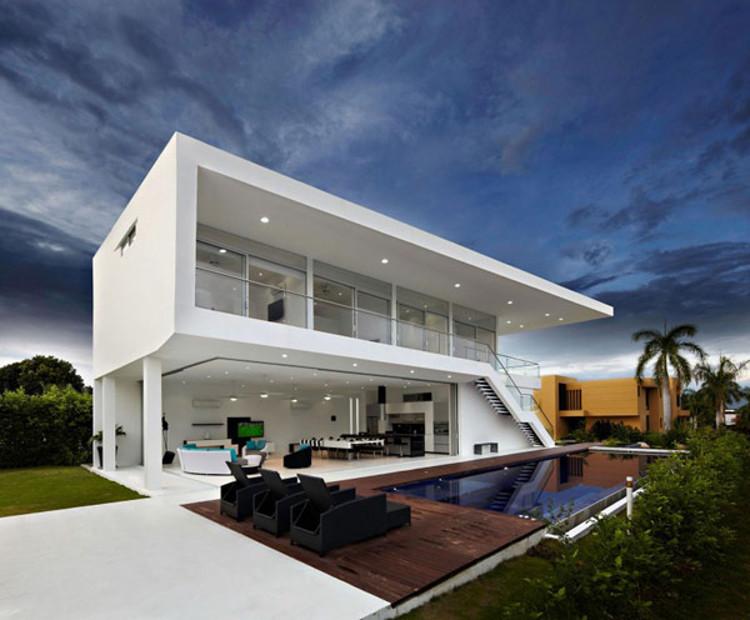 Desain rumah minimalis modern yang mewah, freshome.com