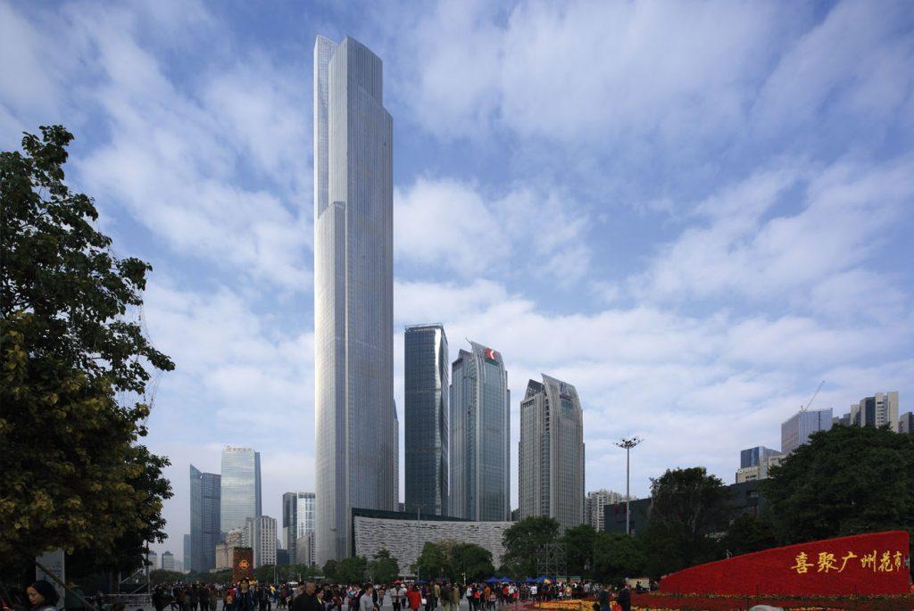 Gambar Guangzhou CTF Finance Centre, wsp.com